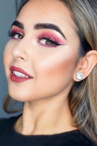rose gold makeup5