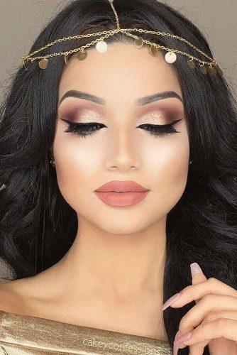 rose gold makeup6