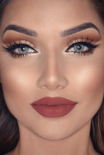 rose gold makeup8