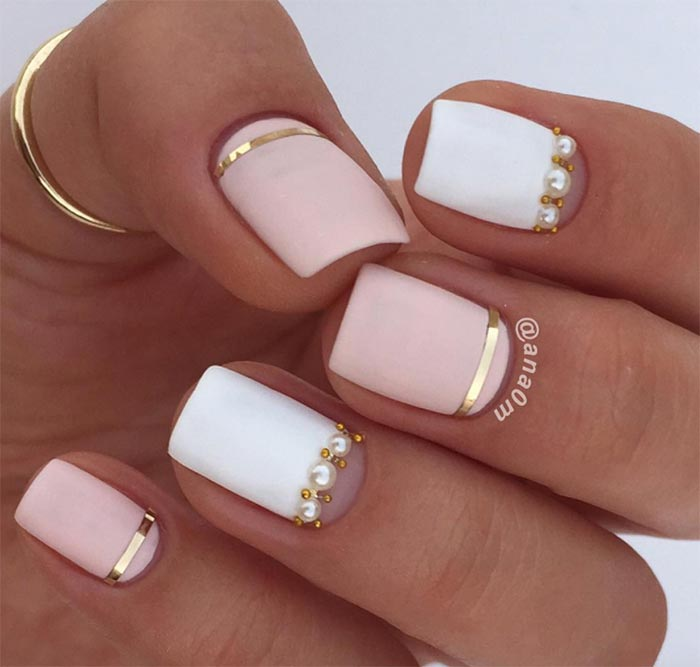 25 Nail Design Ideas For Short Nails