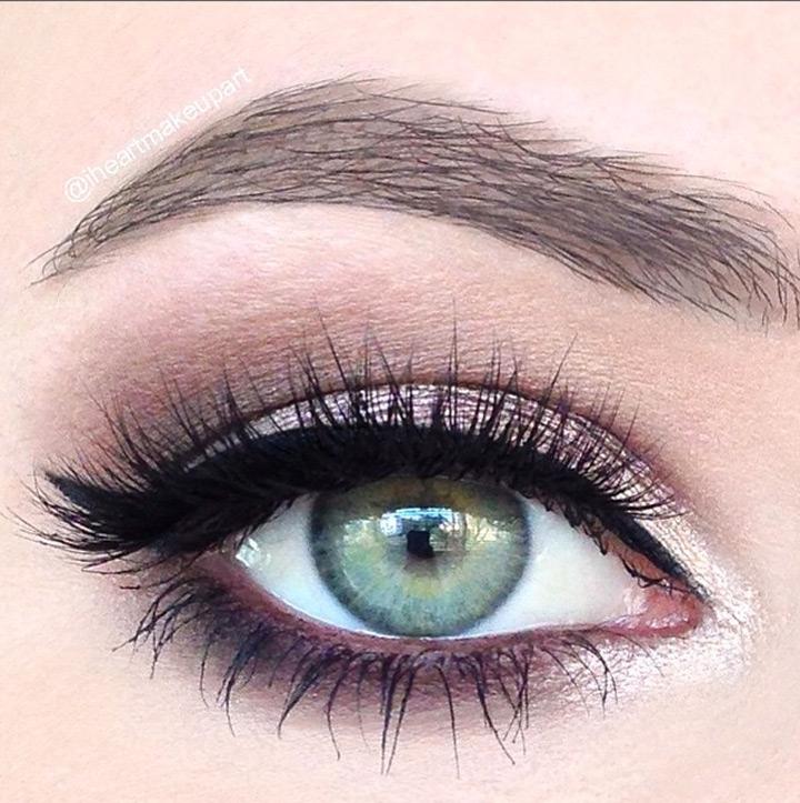 rose smokey eye