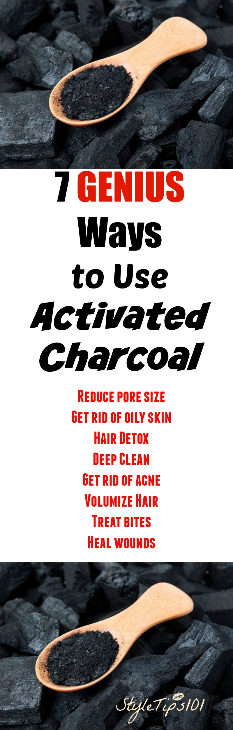 ways to use activated charcoal