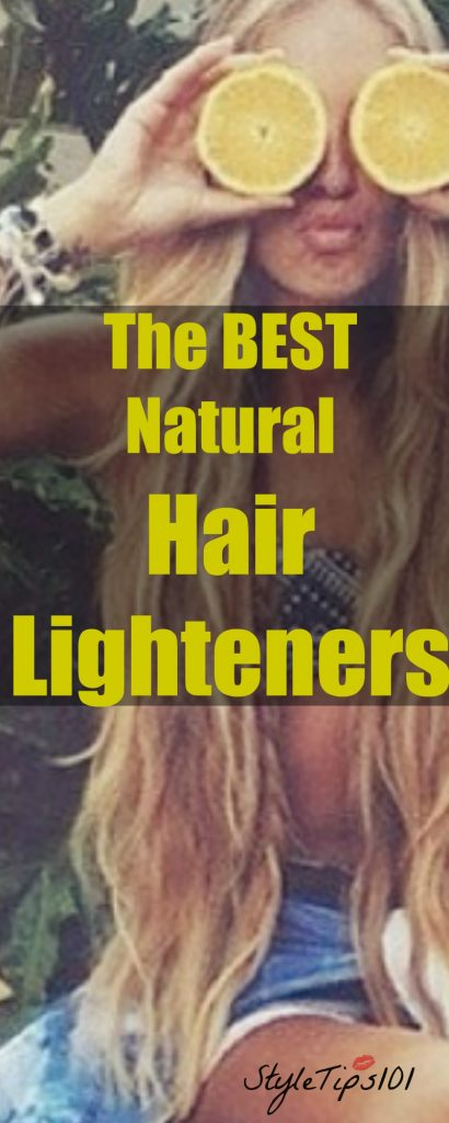 natural hair lighteners