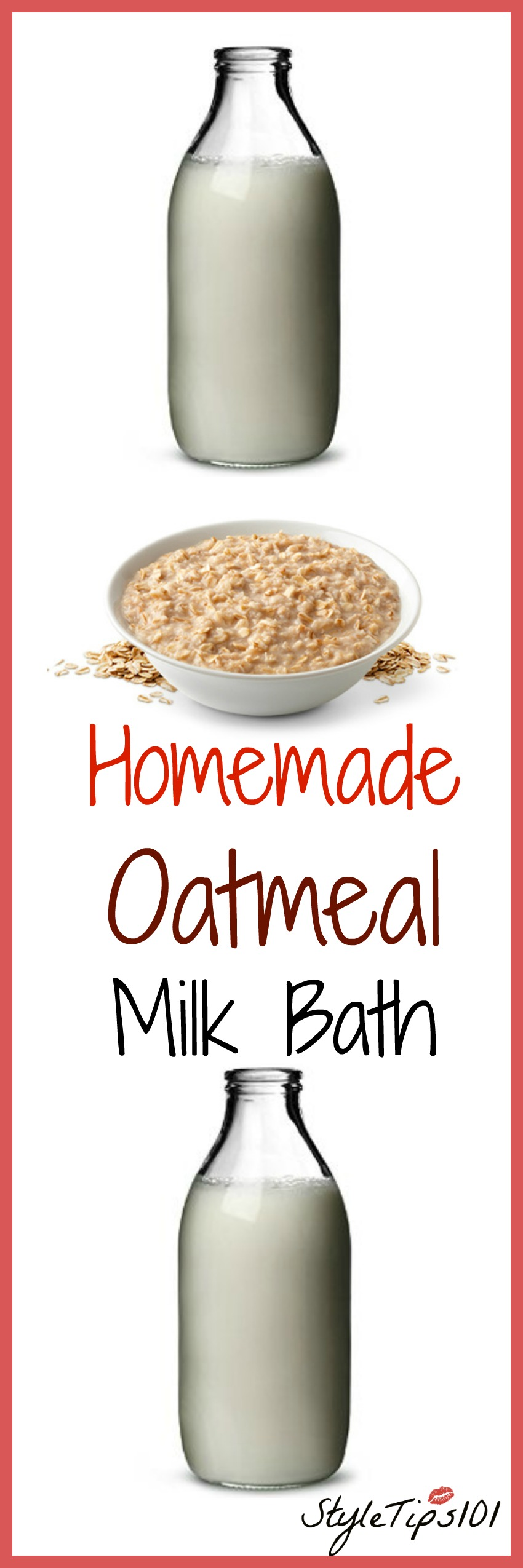 Homemade Oatmeal Milk Bath Recipe