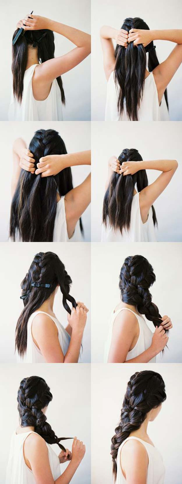 three braid hair tutorial