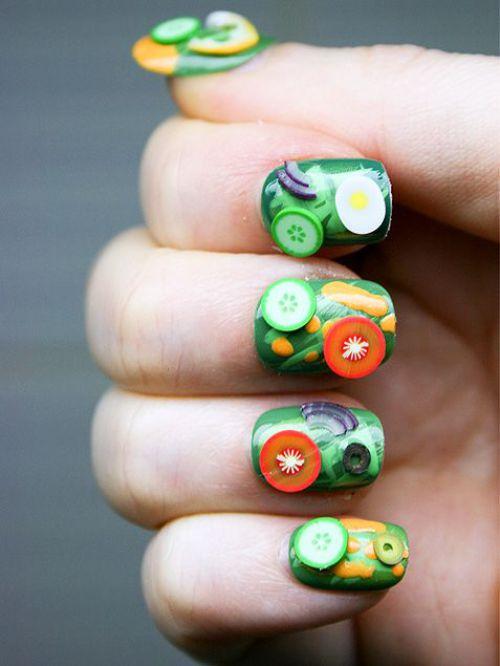 3D food nails