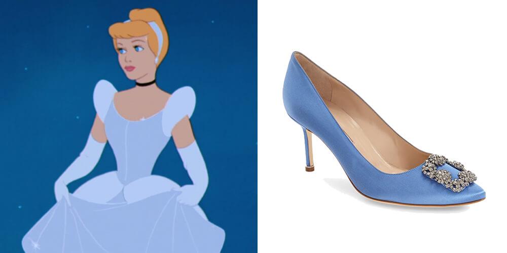 Cinderella Manolo Blahnik
