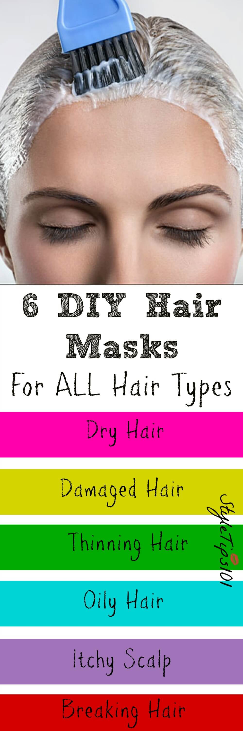 Hair masks for all type of scalps