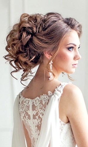 curls wedding hair