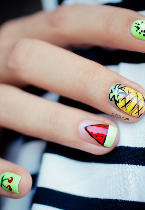 Delicious Nail Designs: 15 Food Nail Designs You'll Want To Copy Right Now