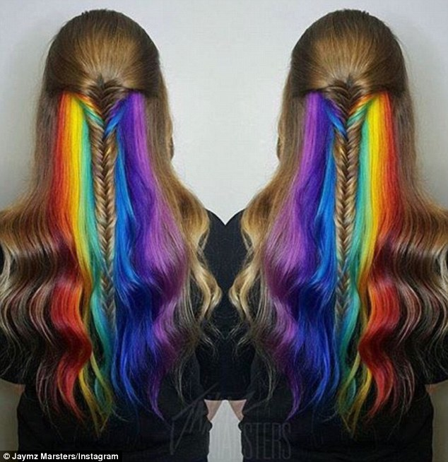 16 Rainbow Hair Color Ideas You Ll Go Crazy Over