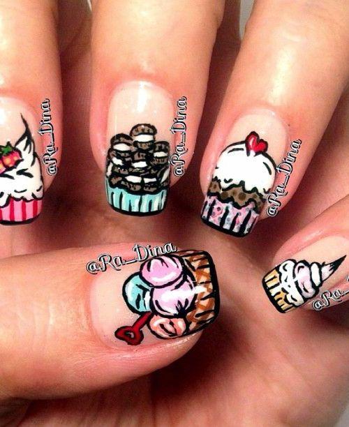 ice cream nails