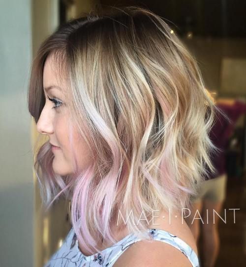 pink shag