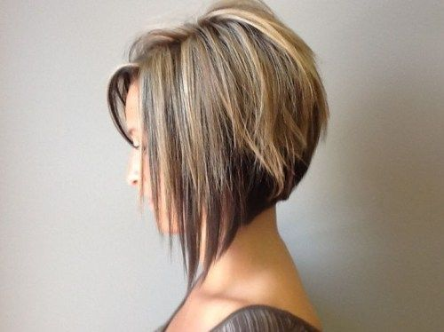 short bronde hair