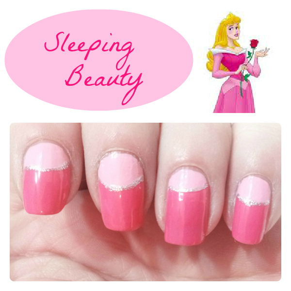 Sleeping Beauty Nail Design - 10 Disney Princess Nail Designs You Can Copy Right Now!