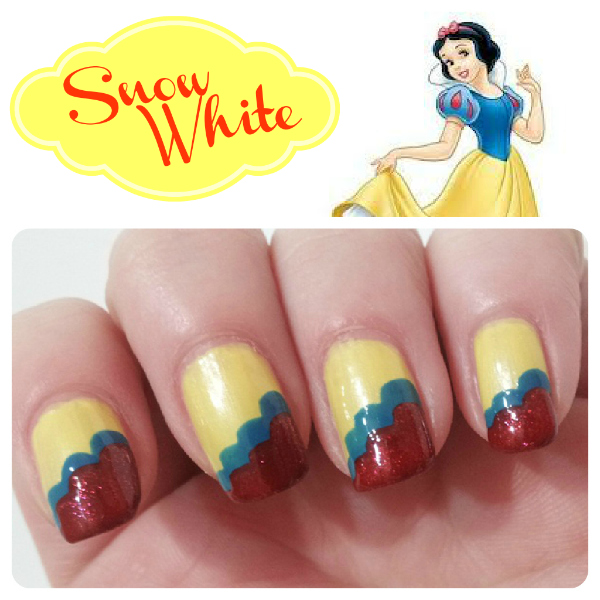 Dress Disney Princess Nails: 10 Disney Princess Nail Designs You Can Copy Right Now