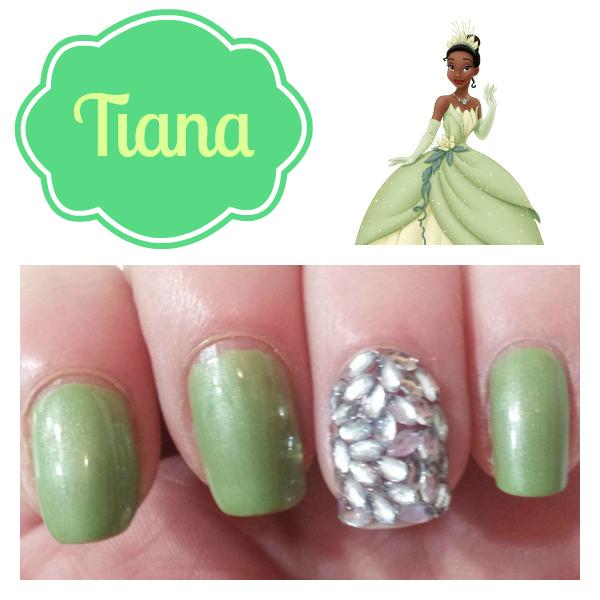 tiana nail design