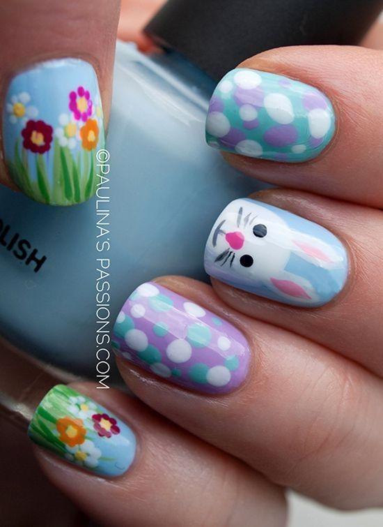 23 Super Adorable Easter Nail Ideas