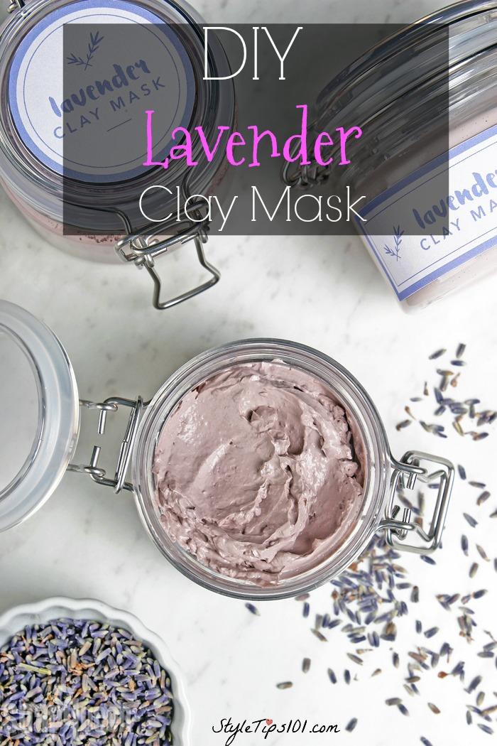 DIY Lavender Clay Mask