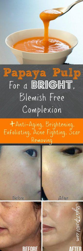 Papaya Skin Benefits