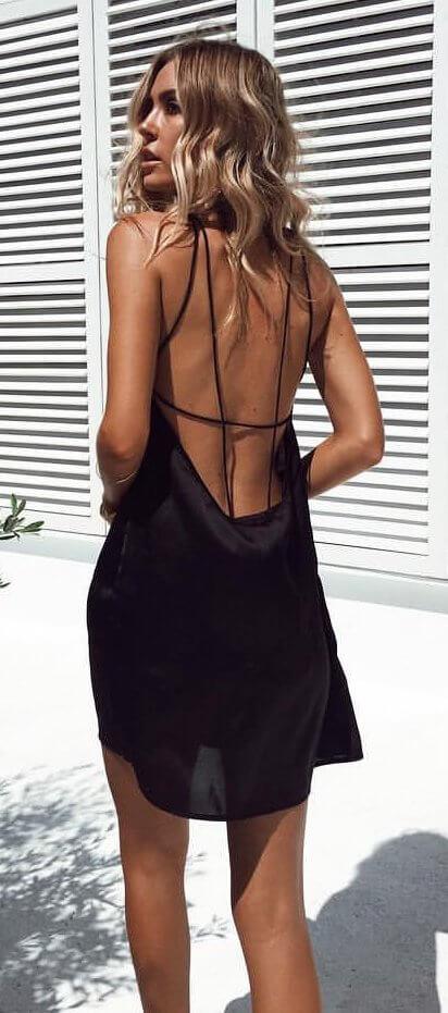 backless mav dress