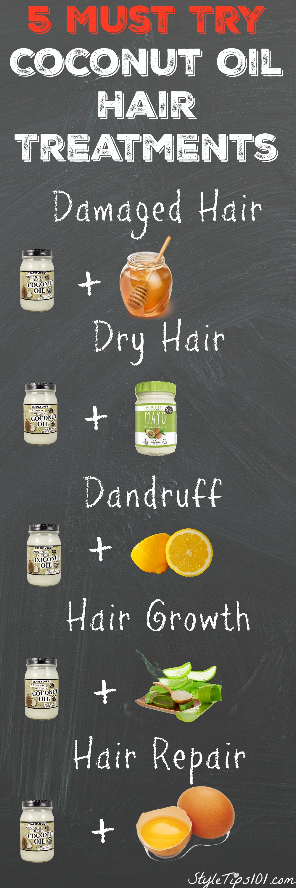 coconut oil hair treatments