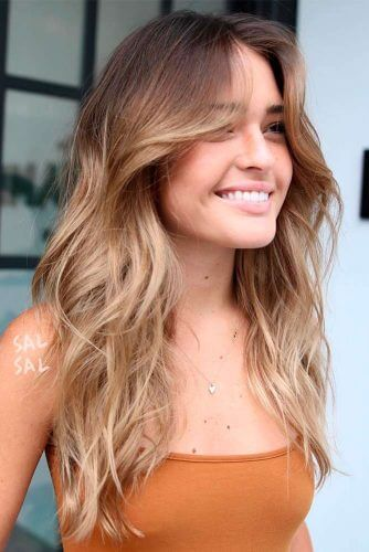 Color Styles For Long Hair: 16 Long Layered Styles For The Summer