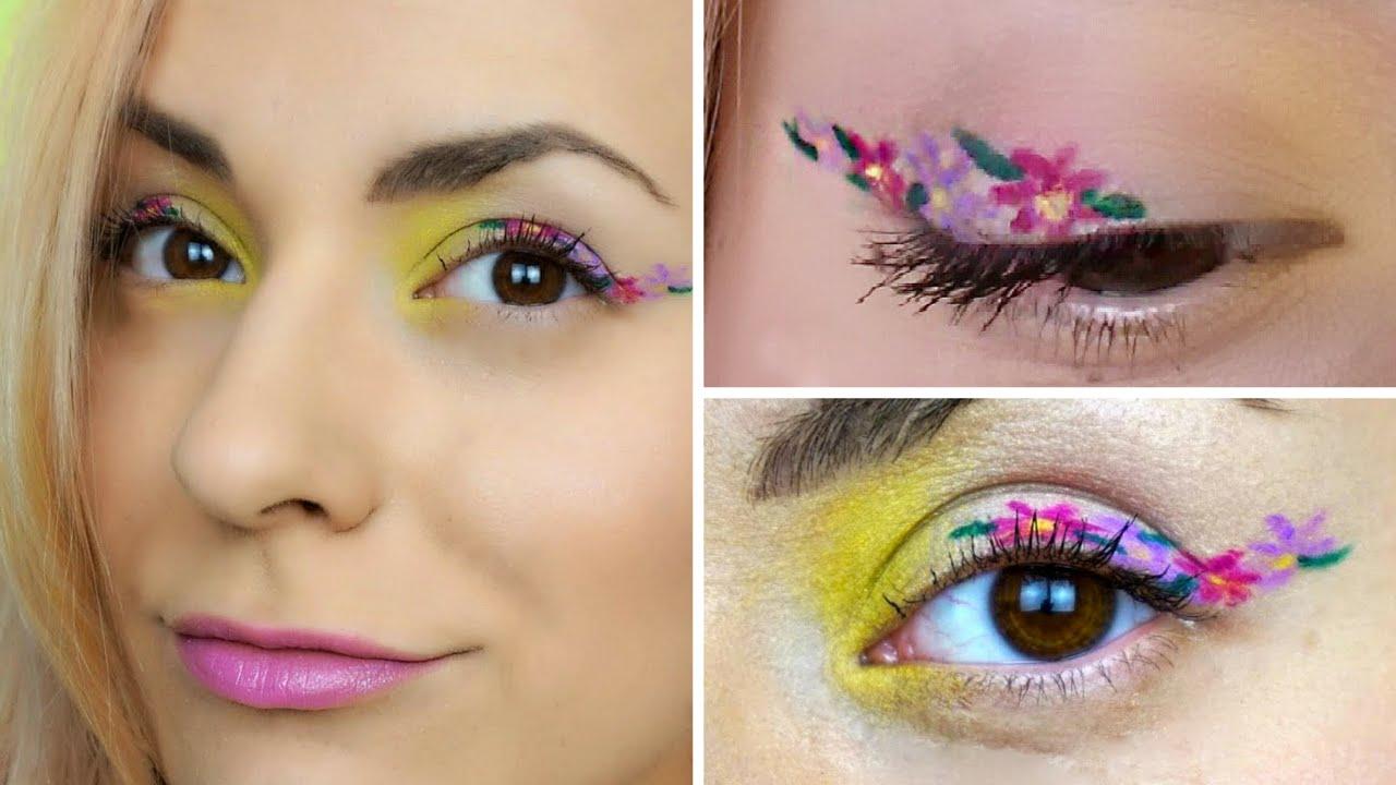 floral eyeliner 2