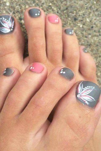 Toe Nail Designs Colorful