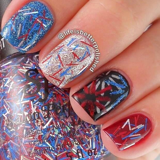 fourth of july nails 10