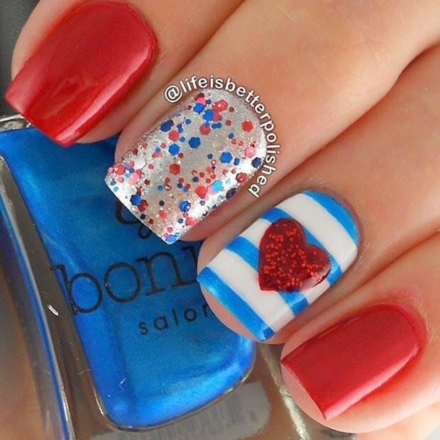 fourth of july nails 15