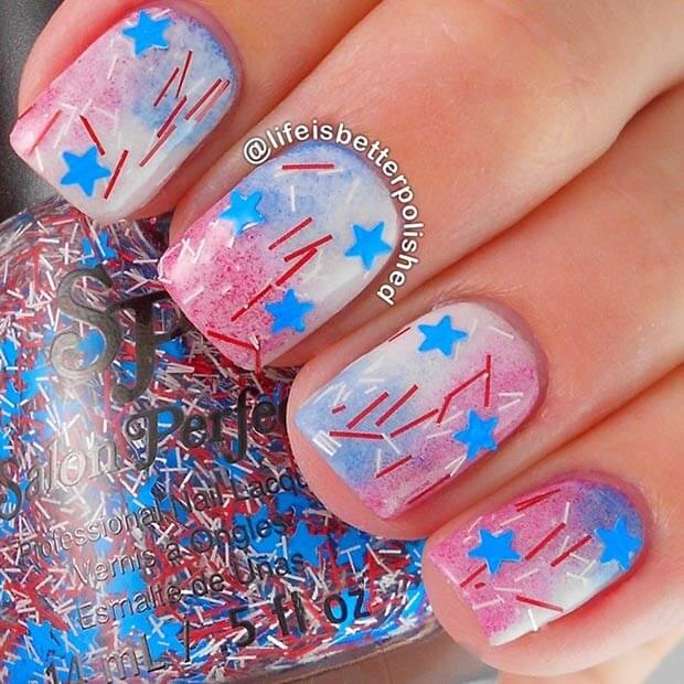 fourth of july nails 16