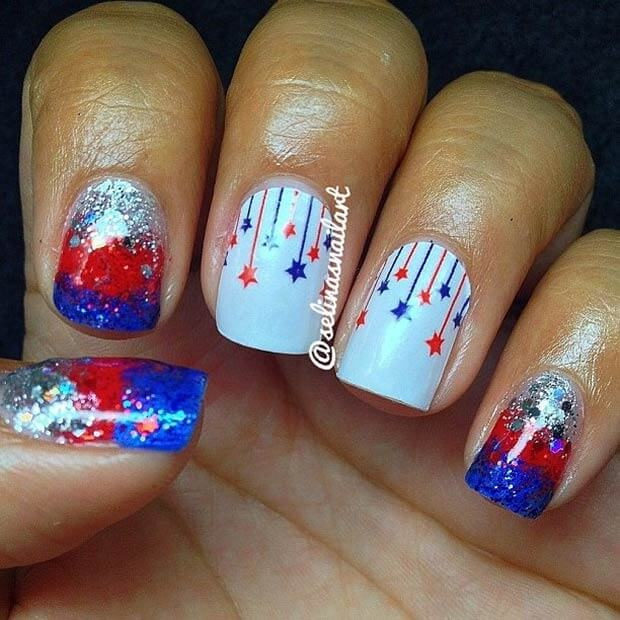 fourth of july nails 17