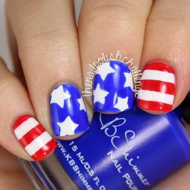 fourth of july nails 19