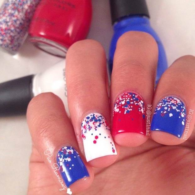 22 Patriotic Fourth Of July Nails You'll Want To Rock This