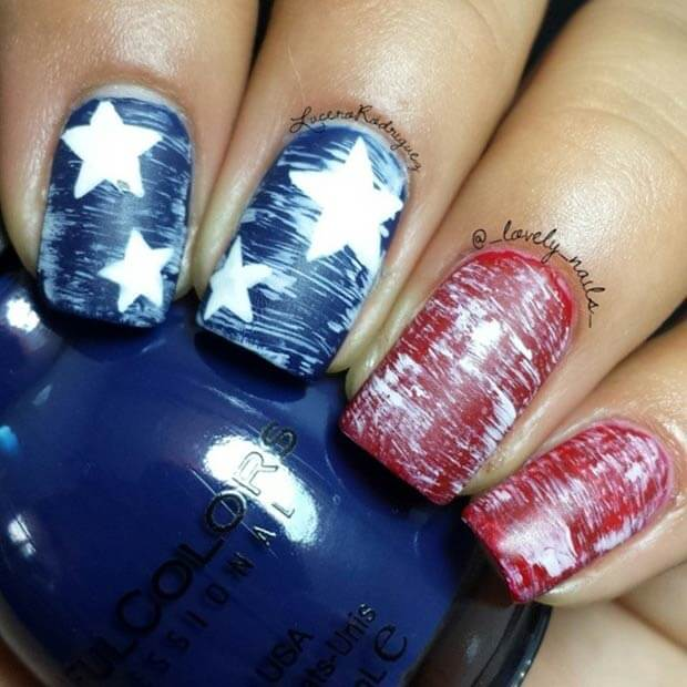 fourth of july nails 21