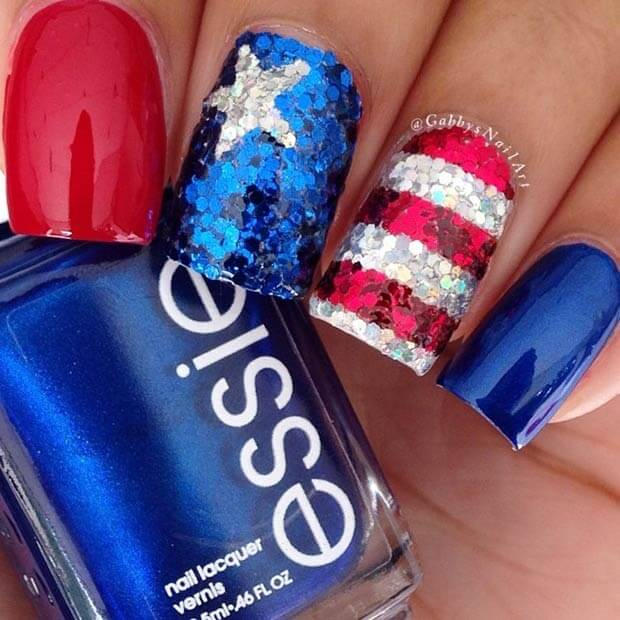 22 Patriotic Fourth of July Nails You'll Want to Rock This Season