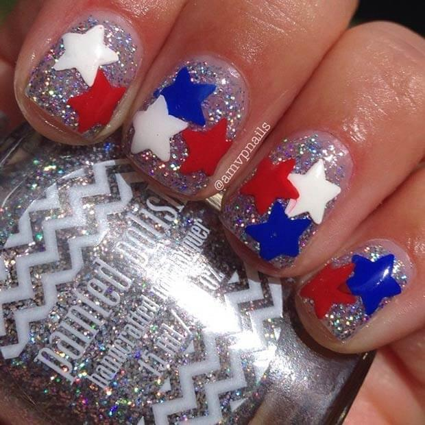 fourth of july nails 8