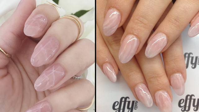 Hot Nail Art Trend: Rose Quartz Nails + DIY Tutorial