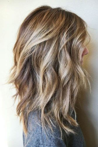tousled waves layers
