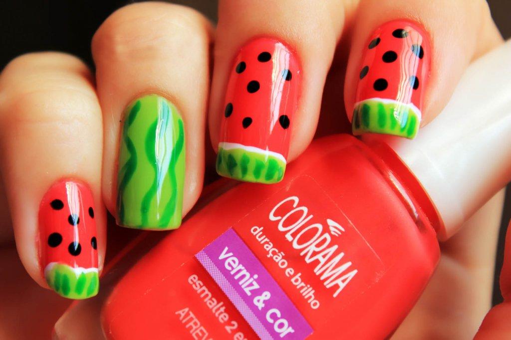 watermelon nail design 18