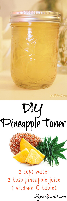 DIY Pineapple Toner