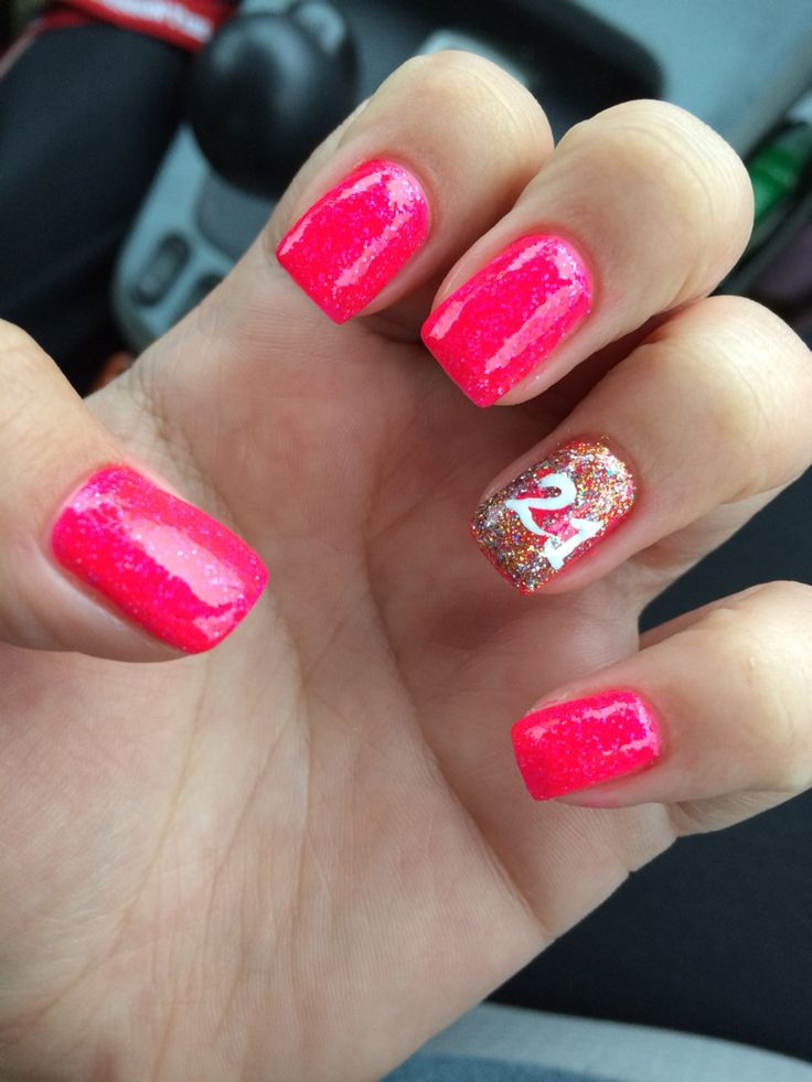 21 Birthday Nail Designs Youll Want to Copy
