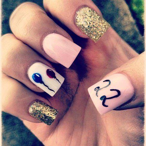 birthday nails 10
