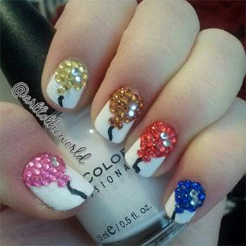 birthday nails 12