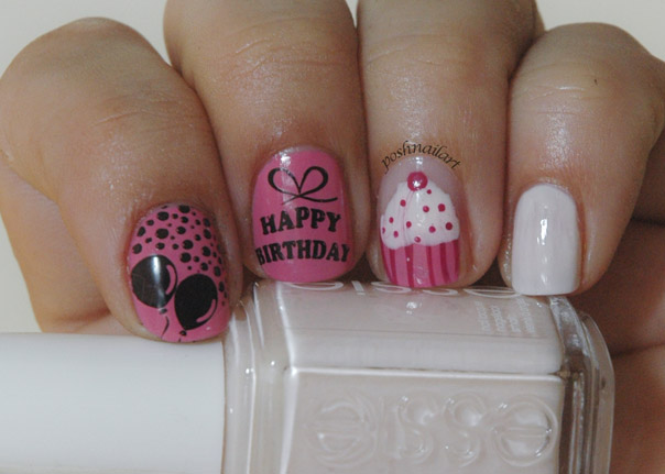 birthday nails 15