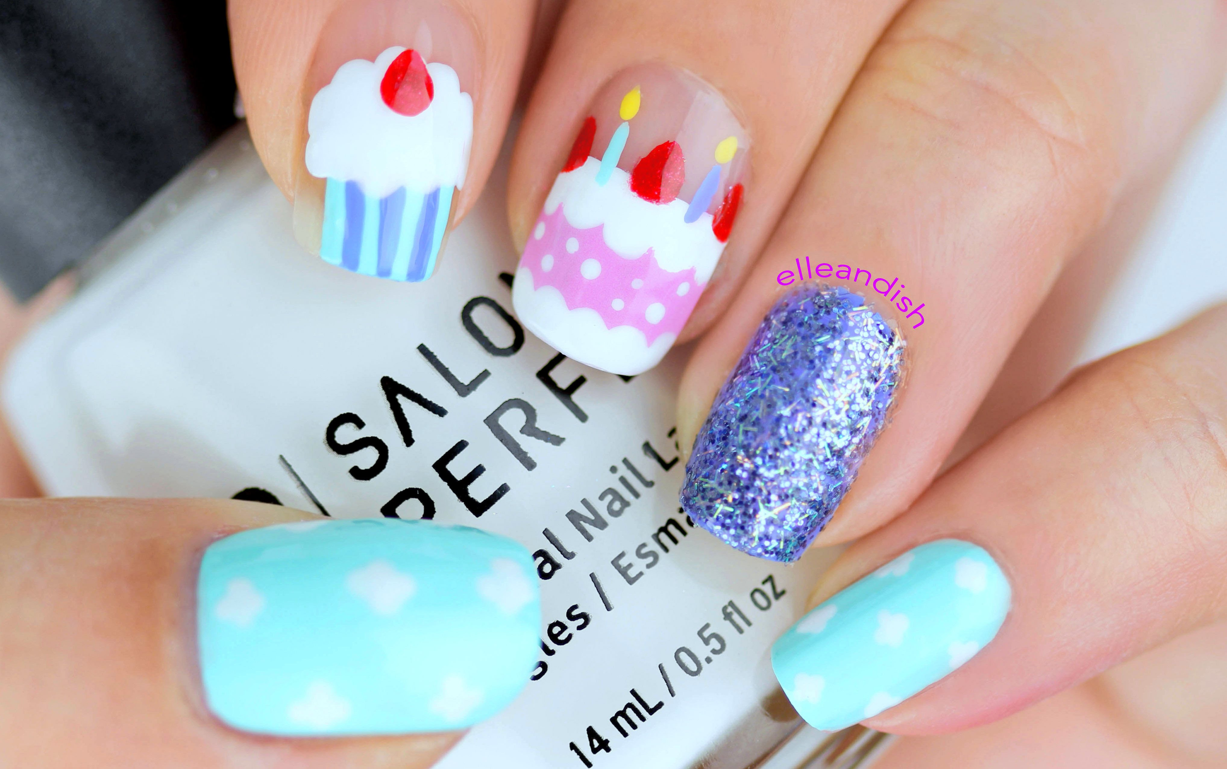21 Birthday Nail Designs You'll Want to Copy