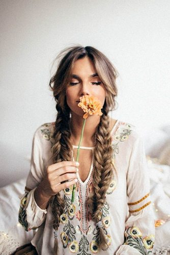 24 Boho Hairstyles You'll Want to Wear All Summer