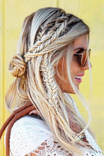 boho hair style 24 boho hairstyles you ll want to wear all summer 3071