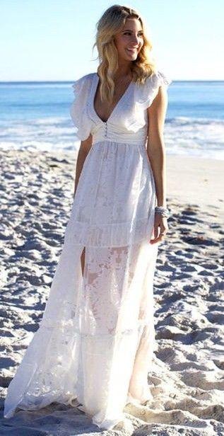 bridal maxi dress